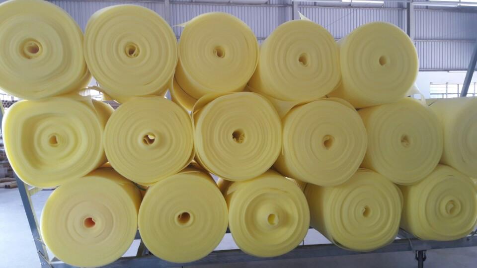 Dạng cuộn màu vàng